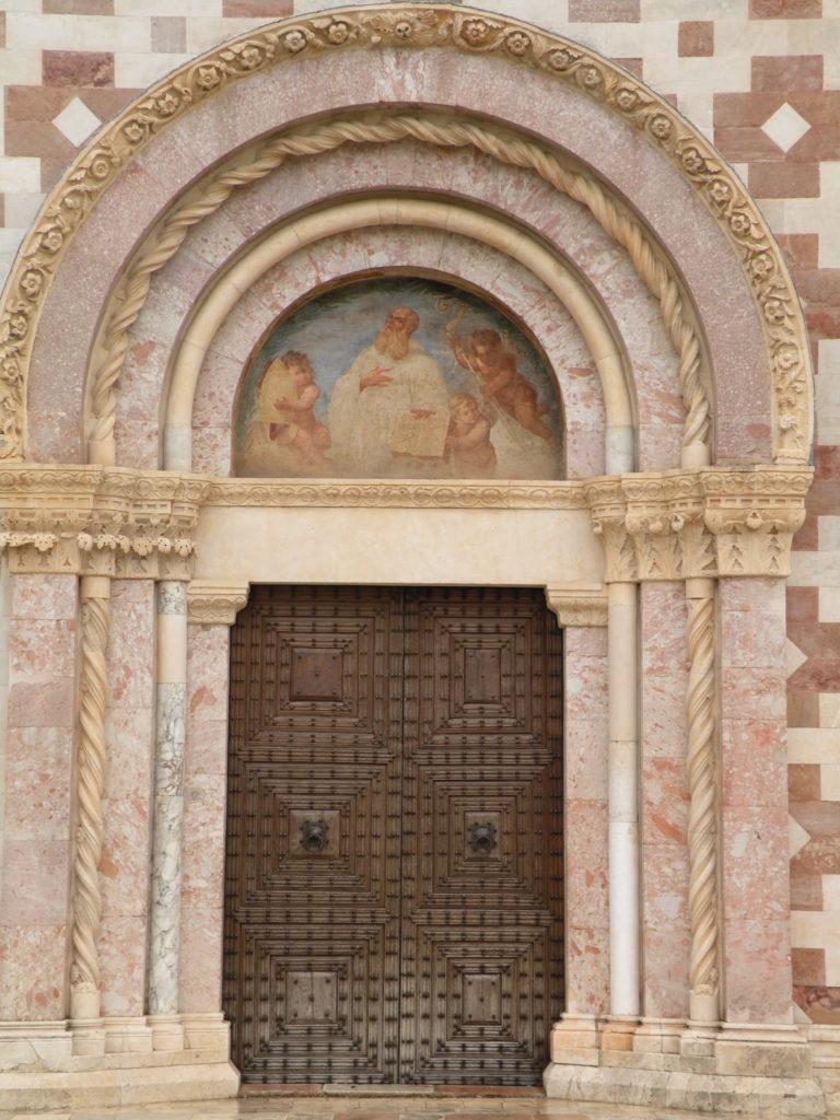 サンタ・マリア・コッレマッジョの扉1