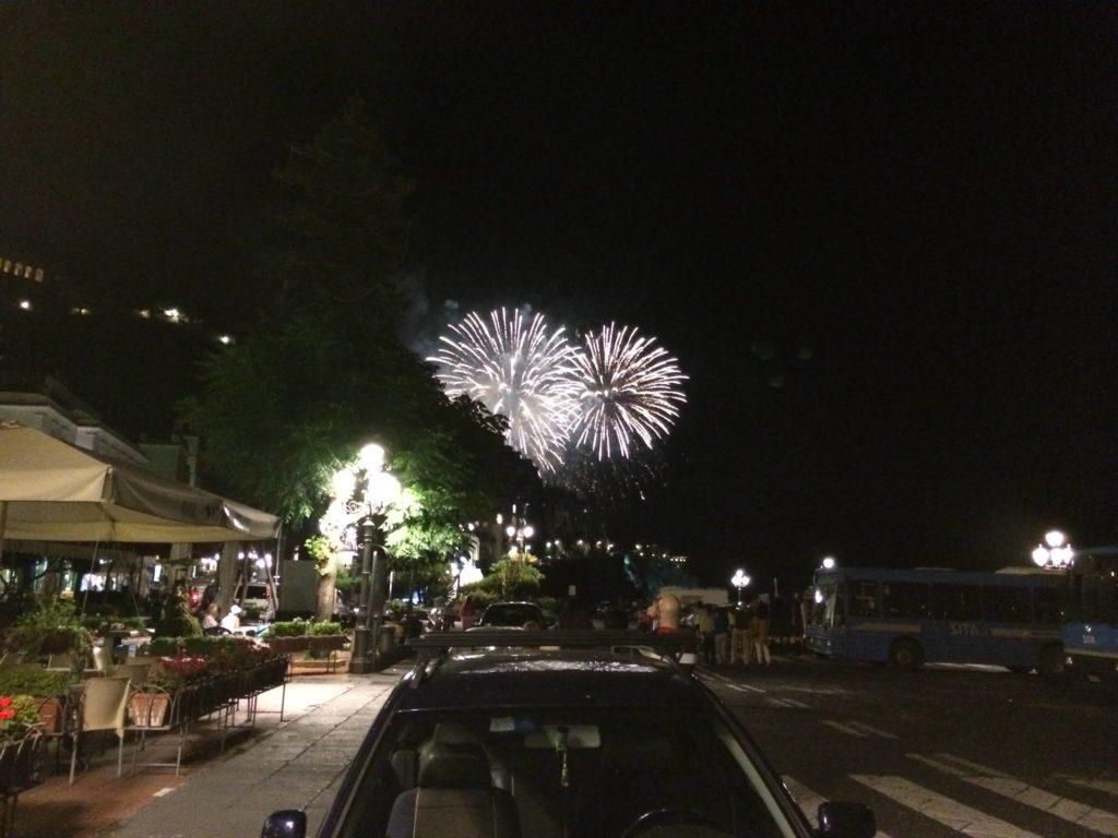 アマルフィの花火