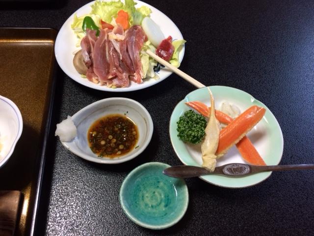 栄光館 三島地鶏と蟹