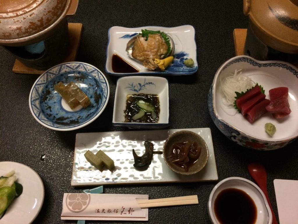 泉旅館矢野の夕食