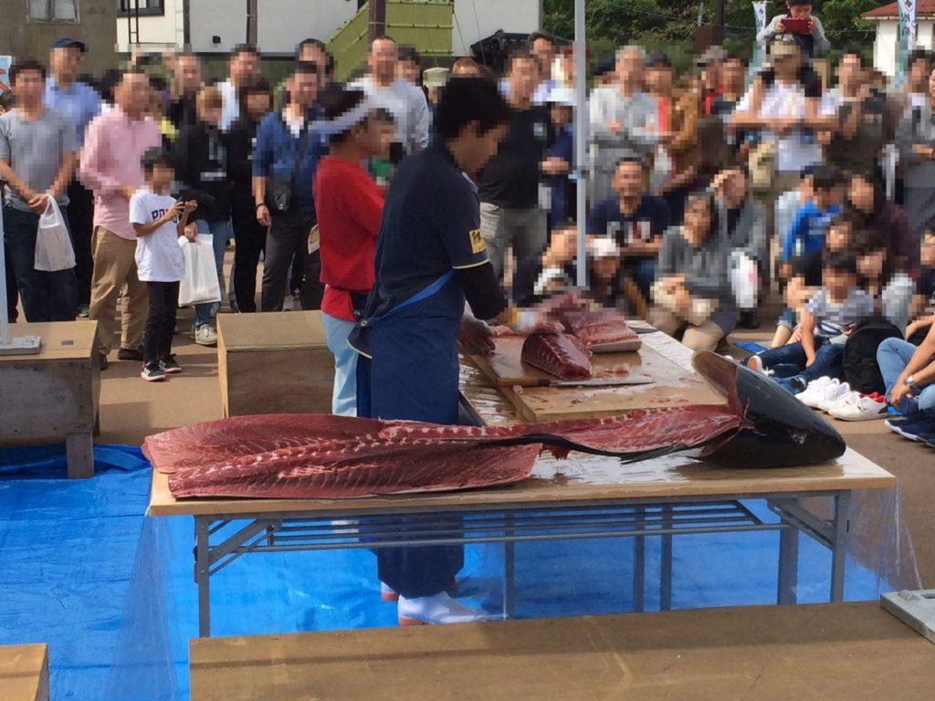 松前城下マグロ祭り2