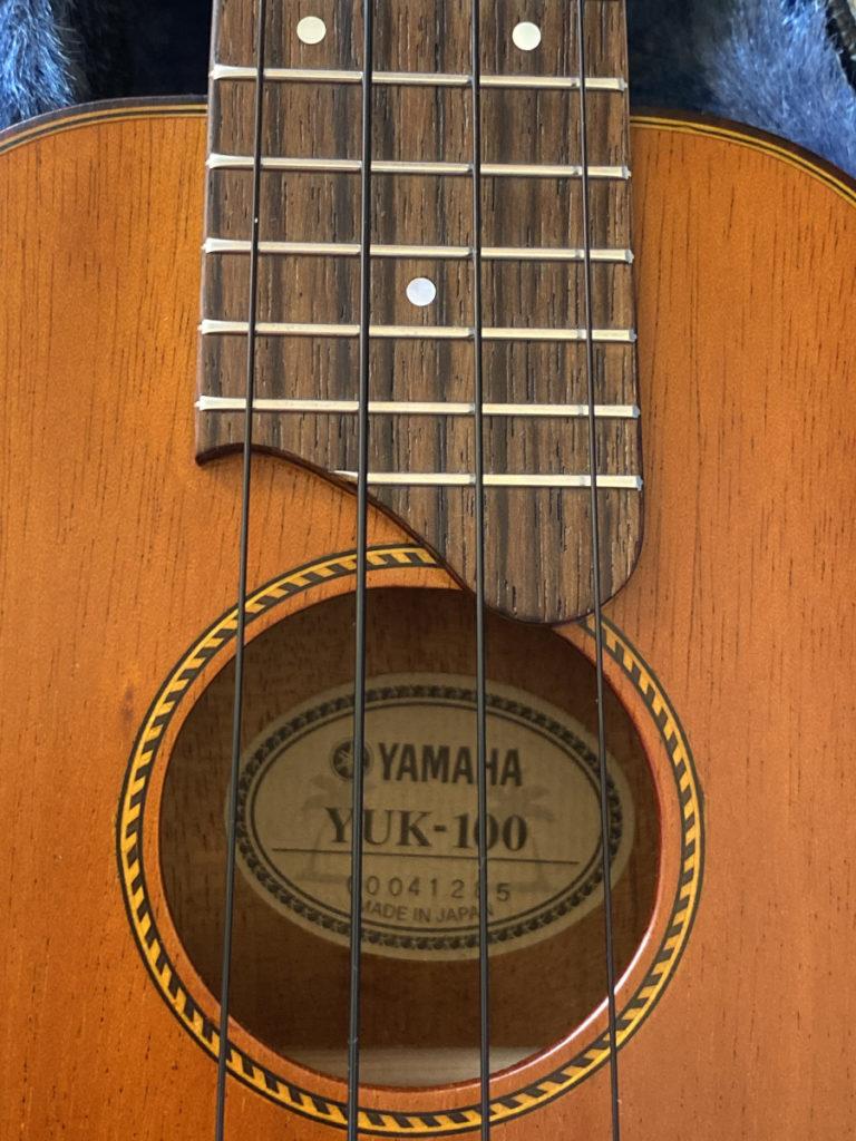 YAMAHA YUK-100 サウンドホール