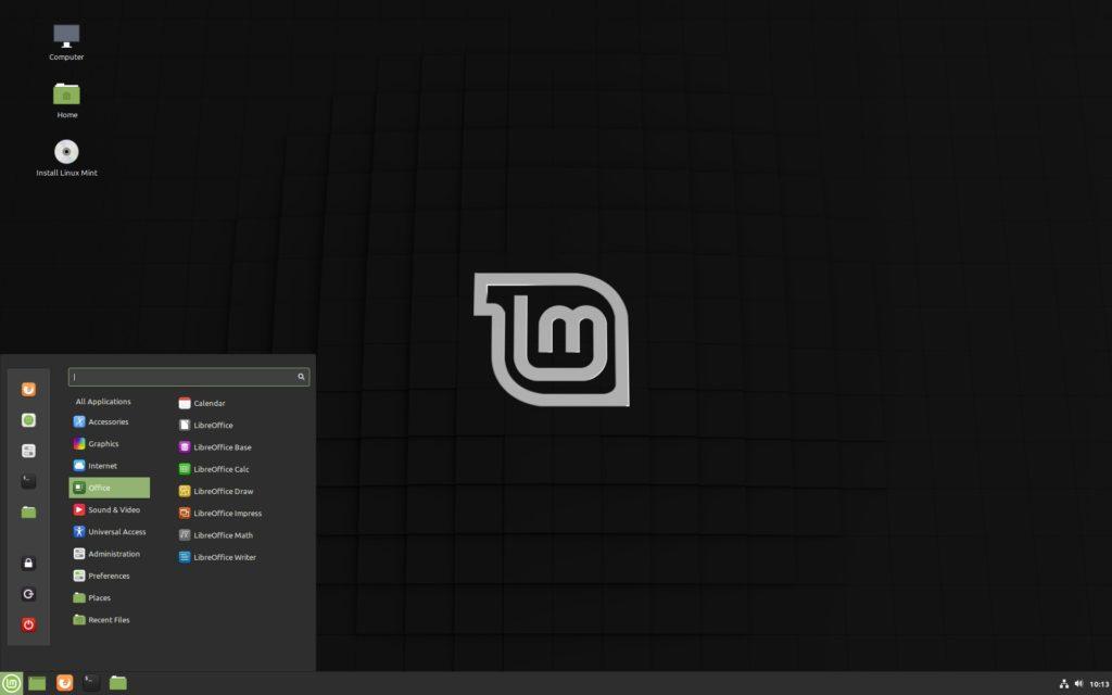 Linux Mint 19.3 Cinnamon イメージ
