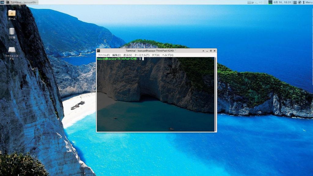 日本製LinuxのnatureOS端末