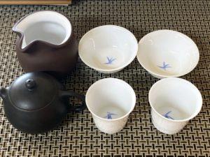 奇古堂の携帯用台湾茶器7