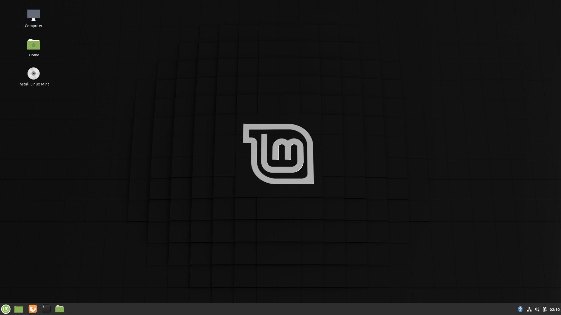 LMDE 4 デスクトップ