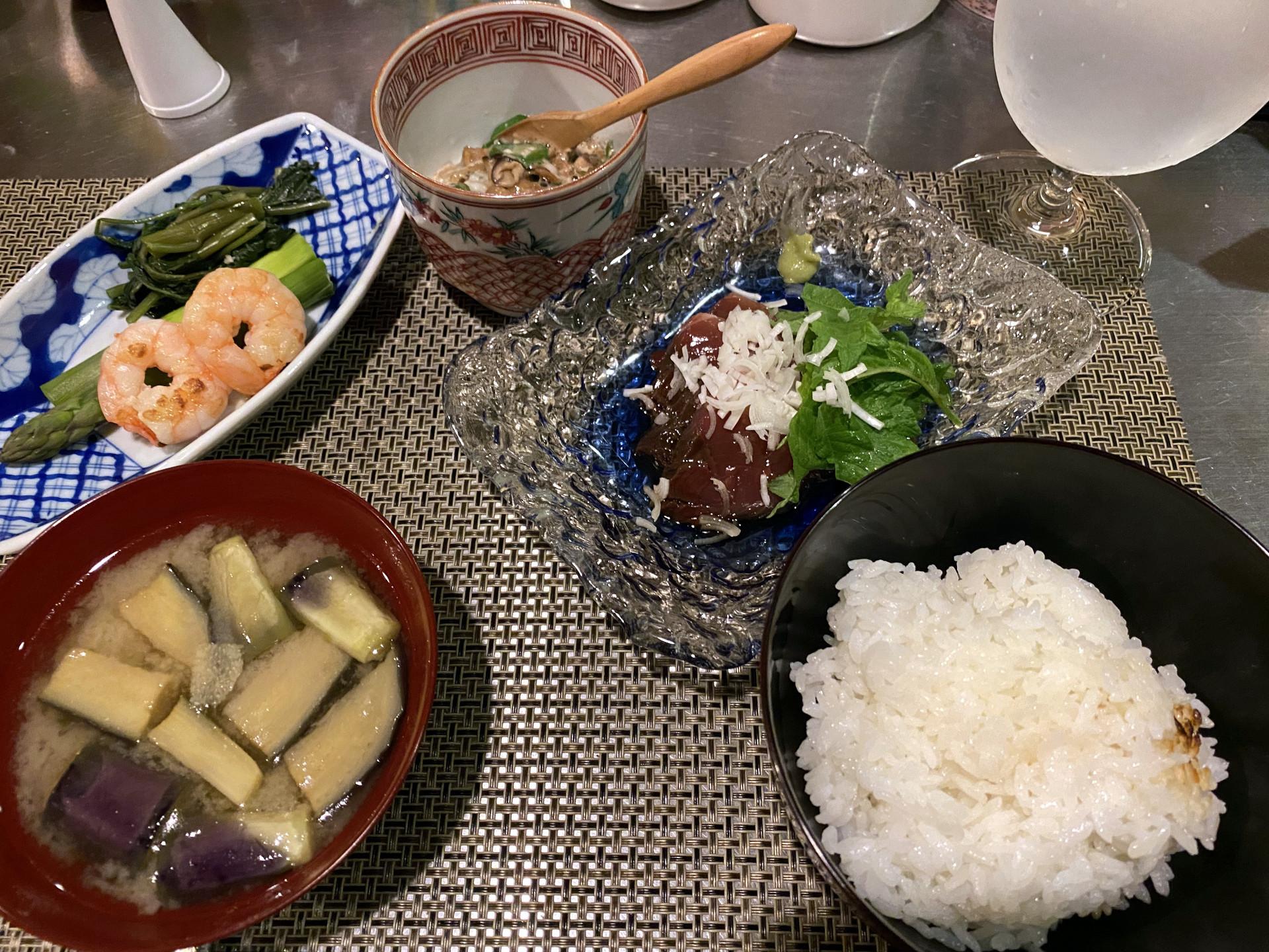 晩酌NGの夕食